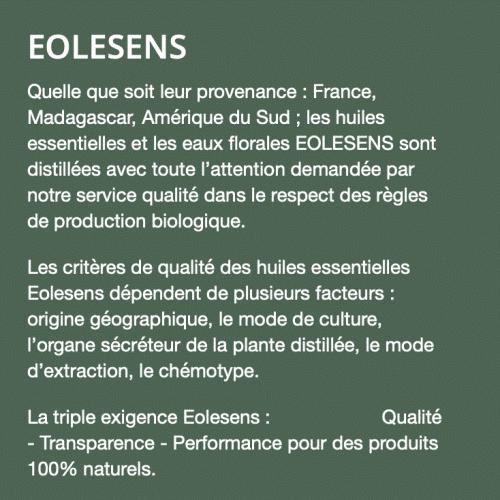 EOLESENS Texte présentation