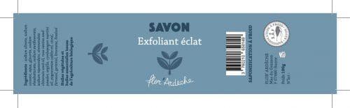 Image étiquette Exfoliant Eclat
