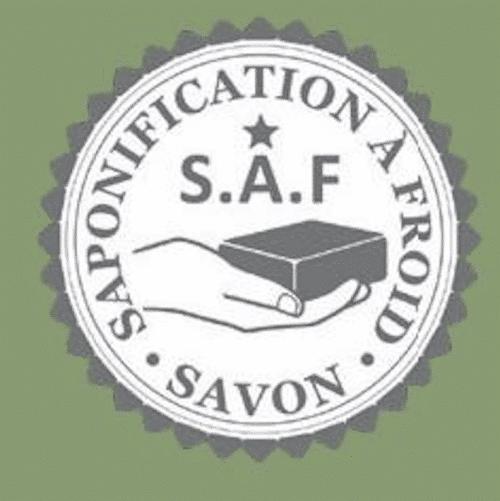 Logo Saponification à froid vert clair