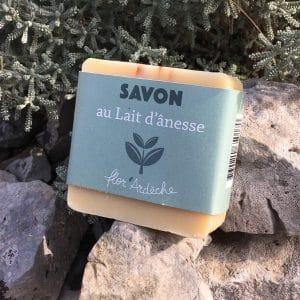 Savon Lait d'ânesse Flor'Ardèche 100g