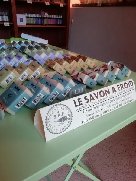 Savon naturel Flor'Ardèche